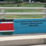 Flags of Edmonston Mural