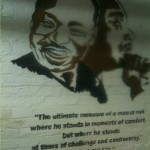 Martin Luther King Mural in the Central Union Mission in Washington DC