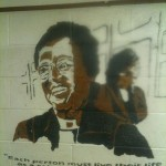 Rosa Parks Mural in the Central Union Mission in Washington DC