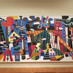 Abstract Art in the Grunwald Art Gallery at Indiana University