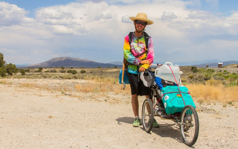 My Pushcart and Me- Photo Cred to Andrew Walsh Photography
