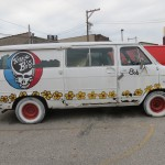 Grateful Dead Van in Aurora, Indiana