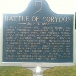 Battle of Corydon Sign