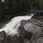 Big Niagara Falls in Baxter State Park in Maine