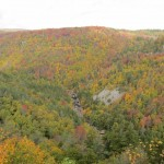 Blackwater Falls as Seen From the Lodge