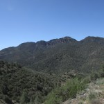 Cache Peak in the Southern Sierra Nevada