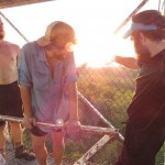 Sunset With the Homies From Catfish Fire Tower Outside Delaware Water Gap, New Jersey