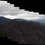 Charlie's Bunyon on the Tennessee/North Carolina Border Panorama