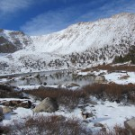 Chicken Spring Lake in the Inyo National Forest