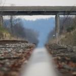 Blurred Railroad Tracks in Chillicothe