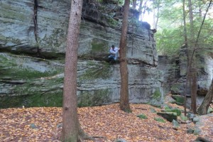 Crazy Climbing at Coopers Rock