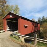 Shinn Covered Bridge Outside Bartlett, Ohio