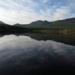Daicey Pond in Baxter State Park in Maine