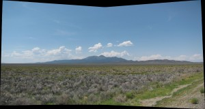 Desert Mountain Panorama