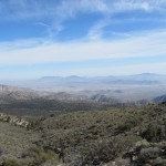 View of the Desert From Mount San Gorgonio