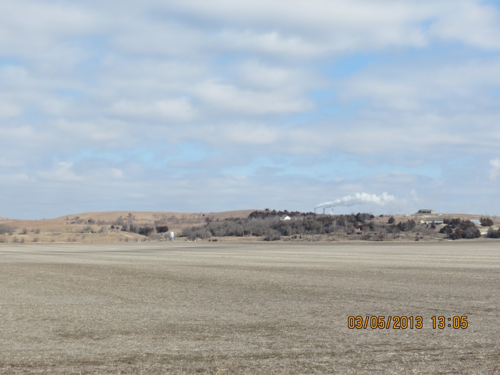 Distant Hills Outside Wamego, Kansas