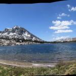 Dorothy Lake in Yosemite National Park Panorama