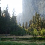 El Capitan from Yosemite Valley in Yosemite National Park