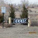 Ellis, Kansas Sign