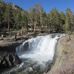 Evolution Creek Waterfall in Kings Canyon National Park