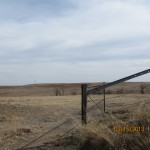 Farm Gate Outside Ellsworth, Kansas