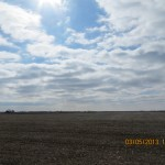 Flat Farm Field Outside St Mary's, Kansas