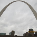 Gateway to the West in St Louis