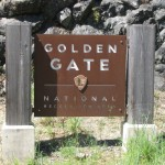 Golden Gate National Recreation Area Sign