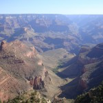 View from the South Rim of the Grand Canyon, Arizona