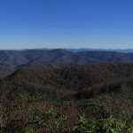 Great Smoky Mountains on the Tennessee/North Carolina Border Panorama