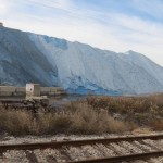 Huge Salt Pile in North Bend, Ohio