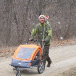 Pushing the Pushcart on the Katy Trail