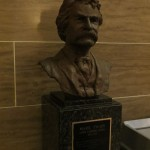 Mark Twain Bust in the Jefferson City State Capital Building