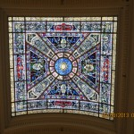 Stained Glass Ceiling Window in the Jefferson City State Capital Building