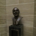 Walt Disney Bust in the Jefferson City State Capital Building