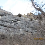 Bluff on the Katy Trail