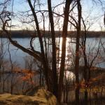 Missouri River Overlook on the Katy Trail