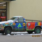 Hippie Truck in Lawrence, Kansas
