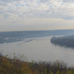 Ohio River Overlook in Leavenworth, Indiana