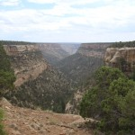 Cliff Canyon in Mesa Verde National Park, Colorado