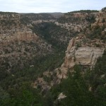 Petroglyph Point Trail in Mesa Verde National Park, Colorado