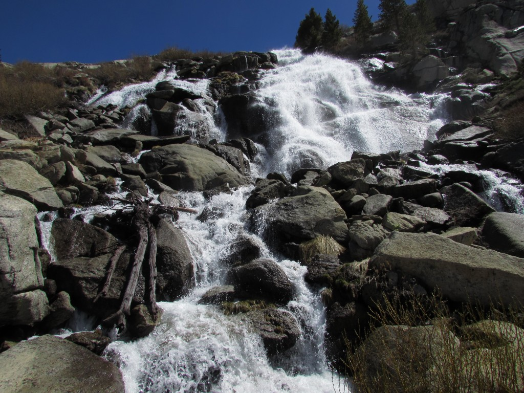 Waterfall Tributary of the Middle Fork Kings River