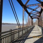 Bridge Over the Missouri River on the Katy Trail