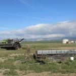 Farm Equipment in the Mojave Desert