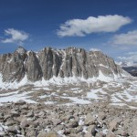 Mount Hale on the Way up to Mount Whitney