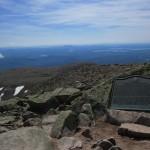 Summit of Mount Katahdin in Maine