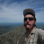 Mount Katahdin Summit Selfie in Maine