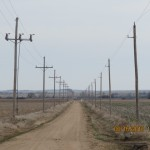 Neverending Powerlines Outside Wilson, Kansas
