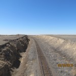 Neverending Railroad Outside Weskan, Kansas