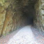 Tunnel on the North Bend Rail Trail